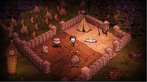 Das exzentrische Wildnis-Survival-Spiel Don't Starve hält Ausschau nach PS4