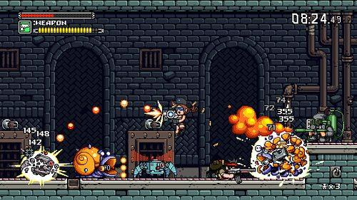 Shoot'em up-Kracher Mercenary Kings jetzt auch für PS4