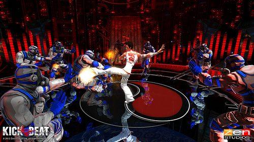 KickBeat kämpft sich am 4. September auf PS Vita und PlayStation 3!