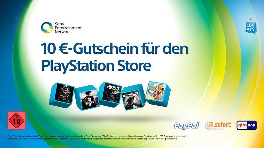 Holt euch einen 10 €-Gutschein für den PlayStation Store