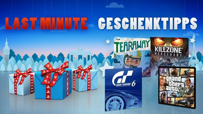 Last Minute PlayStation-Geschenktipps für Weihnachten