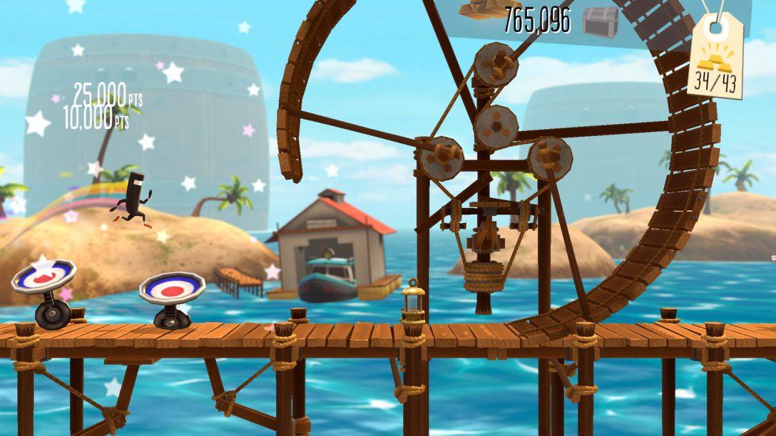 BIT.TRIP Presents… Runner2 sprintet nächste Woche auf PS Vita