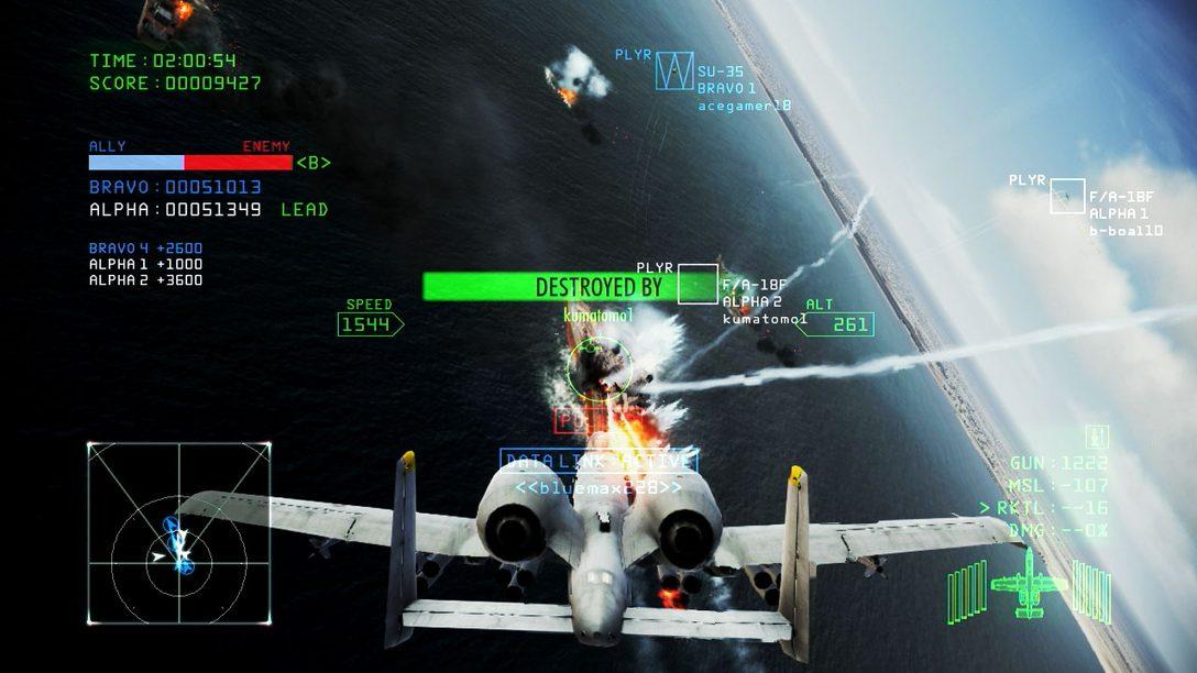 Ace Combat Infinity geht heute in die offene Beta