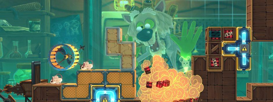 Der Käse-Puzzler MouseCraft erscheint demnächst für PS Vita