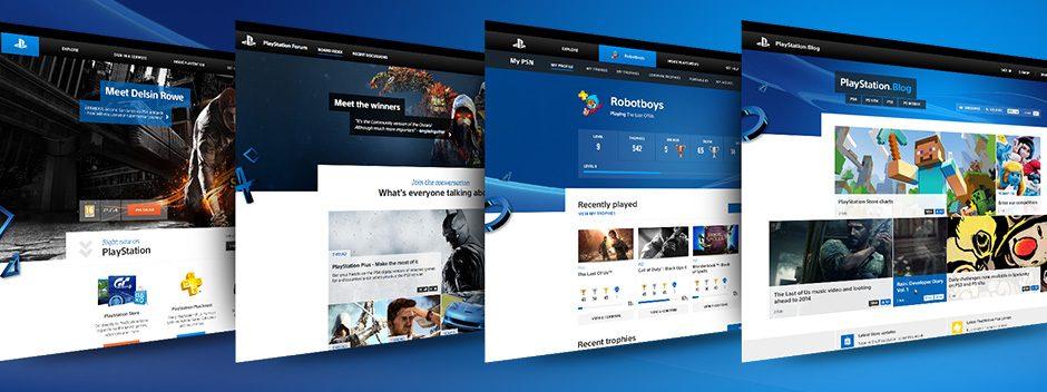 Die PlayStation-Websites bekommen einen neuen Look