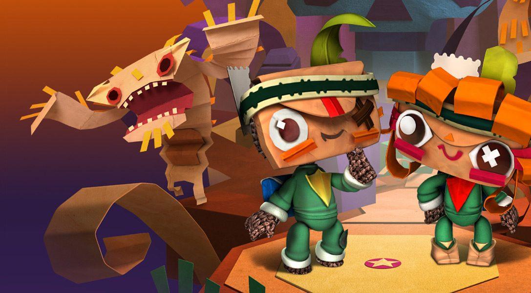 """LittleBigPlanet-Aktualisierung: Diese Woche wird ein neuer """"Tearaway""""-DLC enthüllt"""