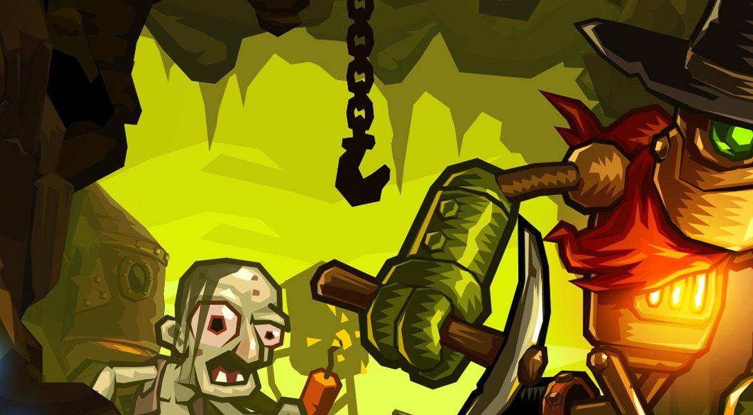 Das skurrile Jump 'n' Run SteamWorld Dig erscheint für PS4 und PS Vita