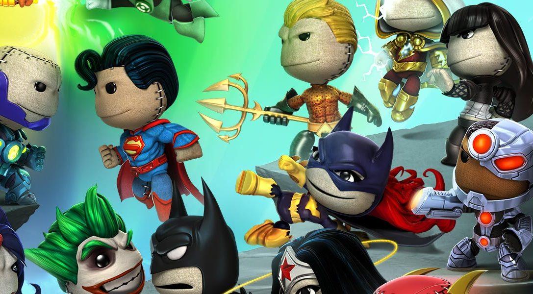 LittleBigPlanet Update: DC Comics Kostüm Pack 4 kommt diese Woche