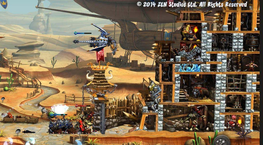 CastleStorm und KickBeat kommen auf PlayStation4!