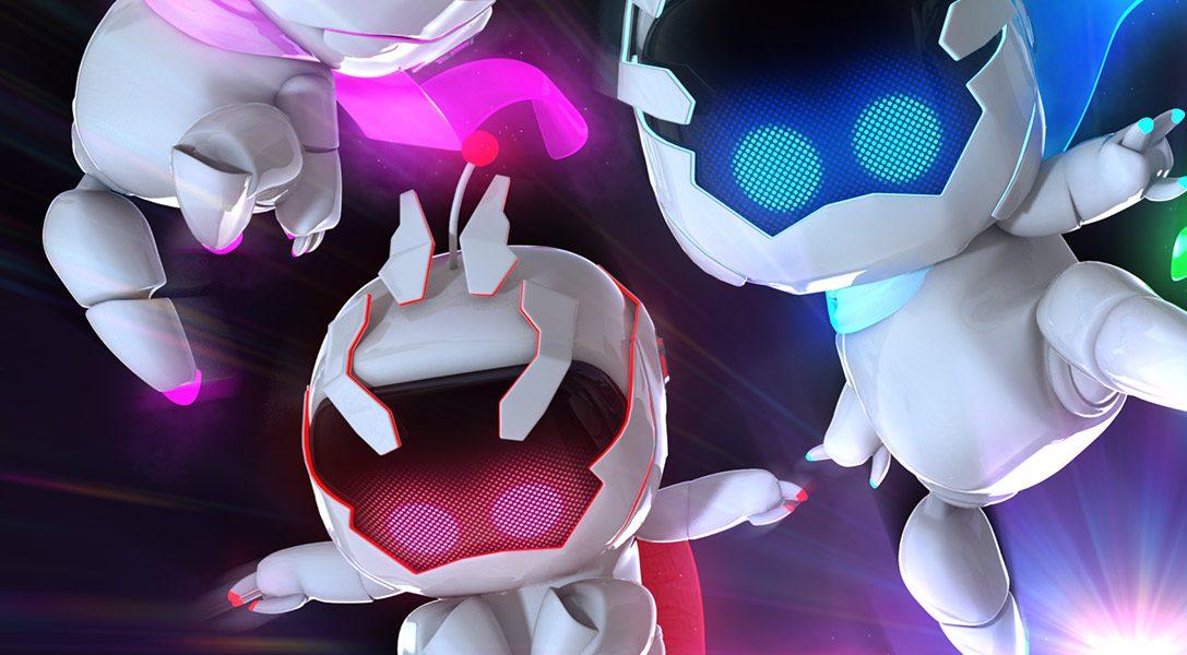 Ninja Bots landen heute in The Playroom auf PS4!
