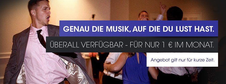 Holt euch 3 Monate Music Unlimited für nur 3 €