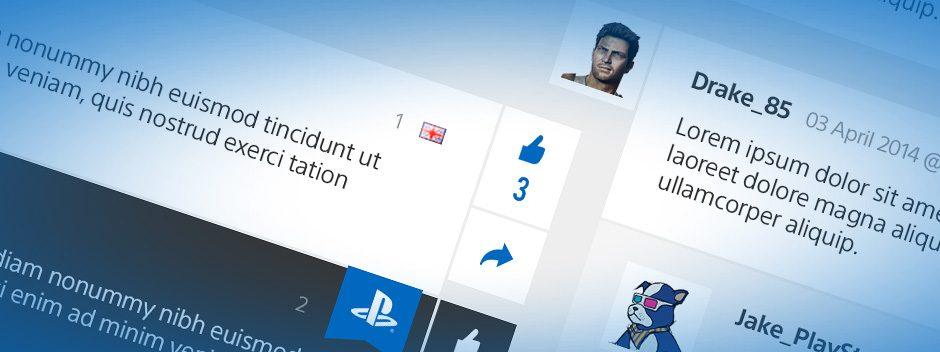 Neue PlayStation Blog-Kommentarfunktionen ab heute verfügbar