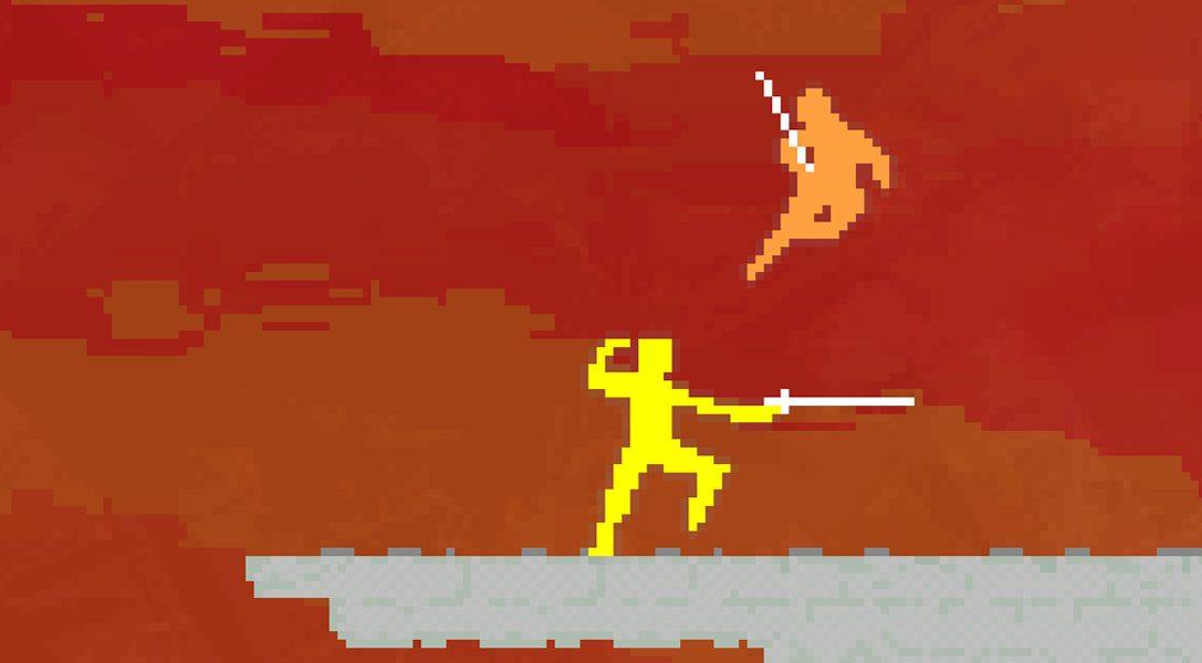 Der Multiplayer-Superhit Nidhogg kommt für PS4