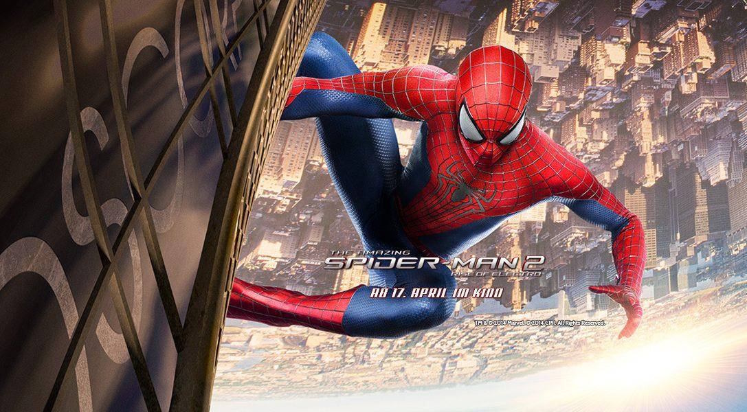 Gewinn eine Reise nach New York und ein PS4-System in limitierter Auflage mit The Amazing Spider-Man 2