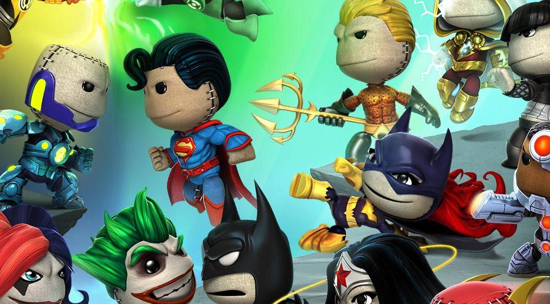 """LittleBigPlanet PS Vita: """"DC Comics""""-Premium-Level-Paket erscheint diese Woche!"""