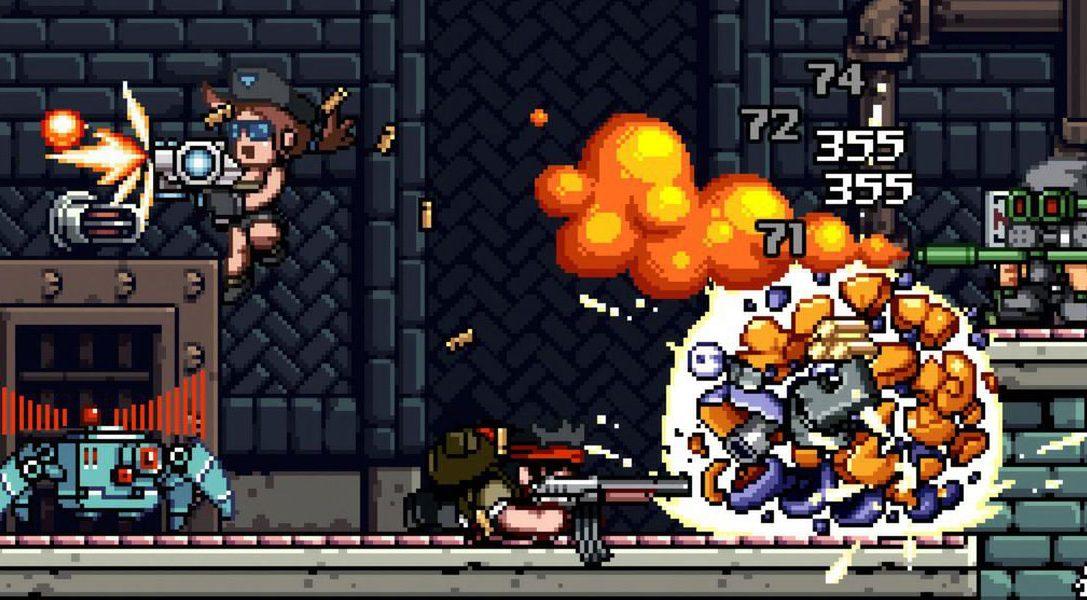 Mercenary Kings attackiert eure PS4 auf PS Plus