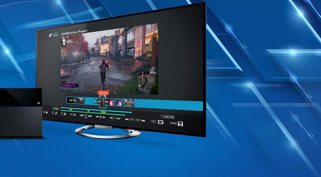 PlayStation Blog testet SHAREfactory, den Video-Editor von PS4