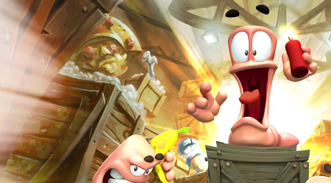 Worms Battlegrounds stürmt heute auf PS4 zu
