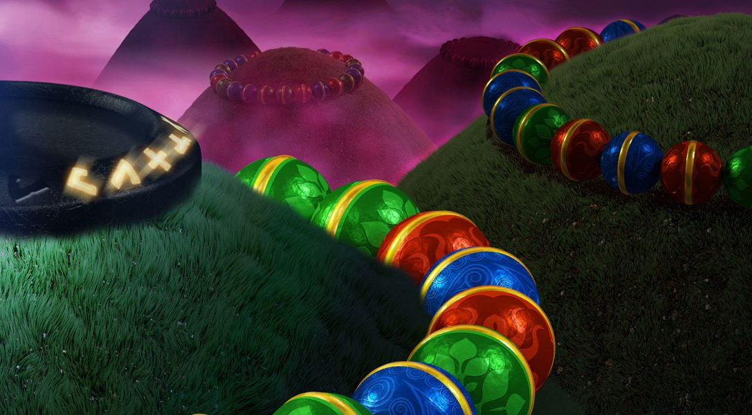 Der Match-3-Murmel-Shooter Sparkle 2 erscheint für PS4 und PS Vita
