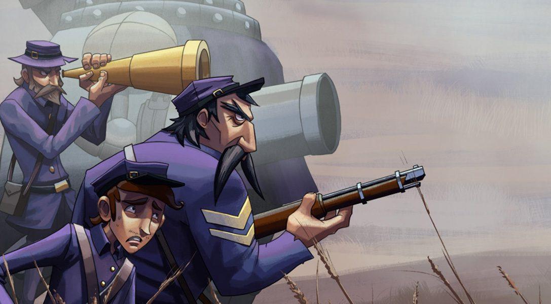 Das schnelle, epische Strategie-Spiel Ironclad Tactics erscheint auf PS4