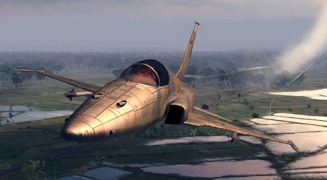Air Conflicts: Vietnam Ultimate Edition für PS4 erhältlich