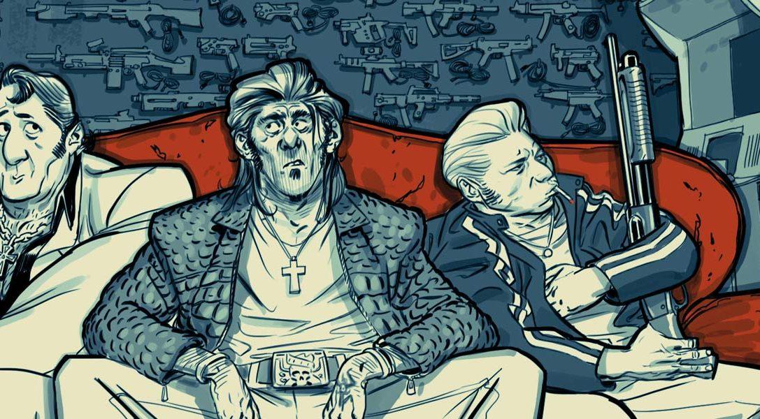Blue Estate ab morgen auf PS4 – seht euch den Trailer an