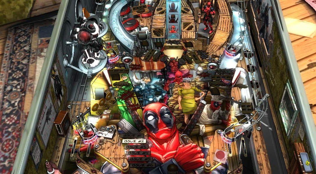 Deadpool debütiert bei Zen Pinball 2