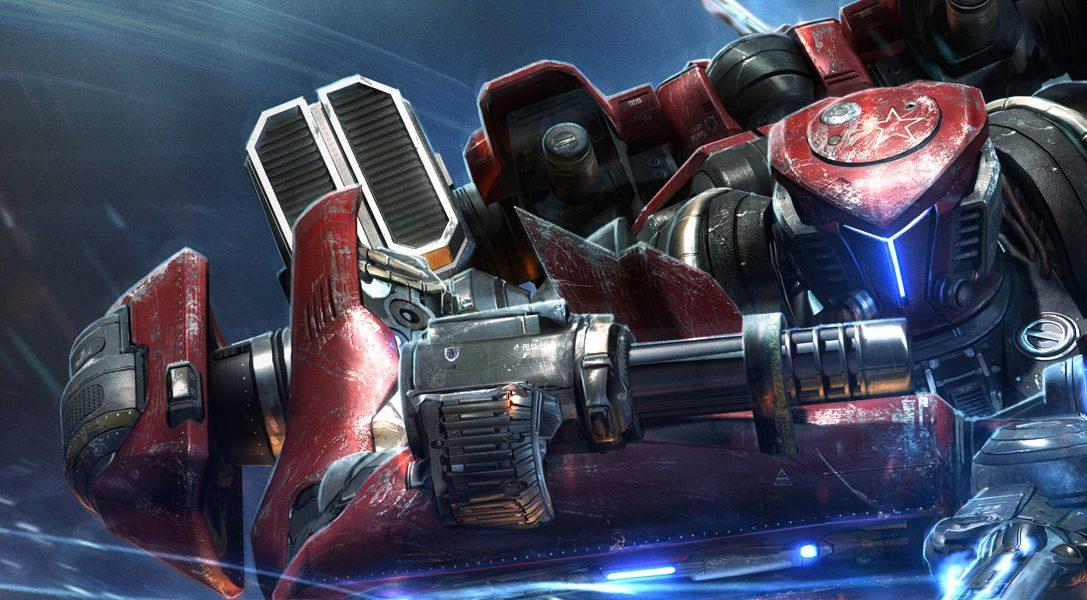 MechRunner kommt diesen Sommer für PS4 und PS Vita