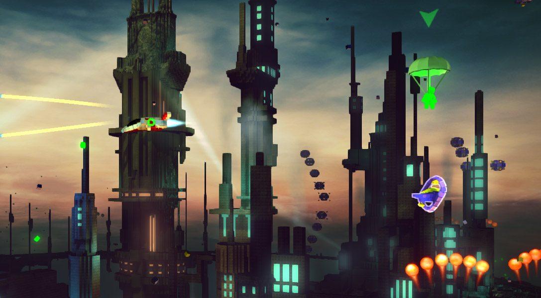 Der DLC RESOGUN: Heroes beschert euch nächsten Monat neue Spielmodi