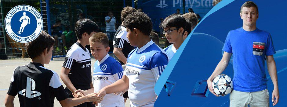 Der PlayStation Junior Champions Cup macht aus euch einen echten Fußballer