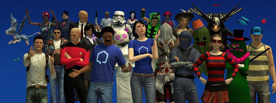 PlayStation®Home-Aktualisierung: Wir bleiben in dieser Woche cool und klassisch.