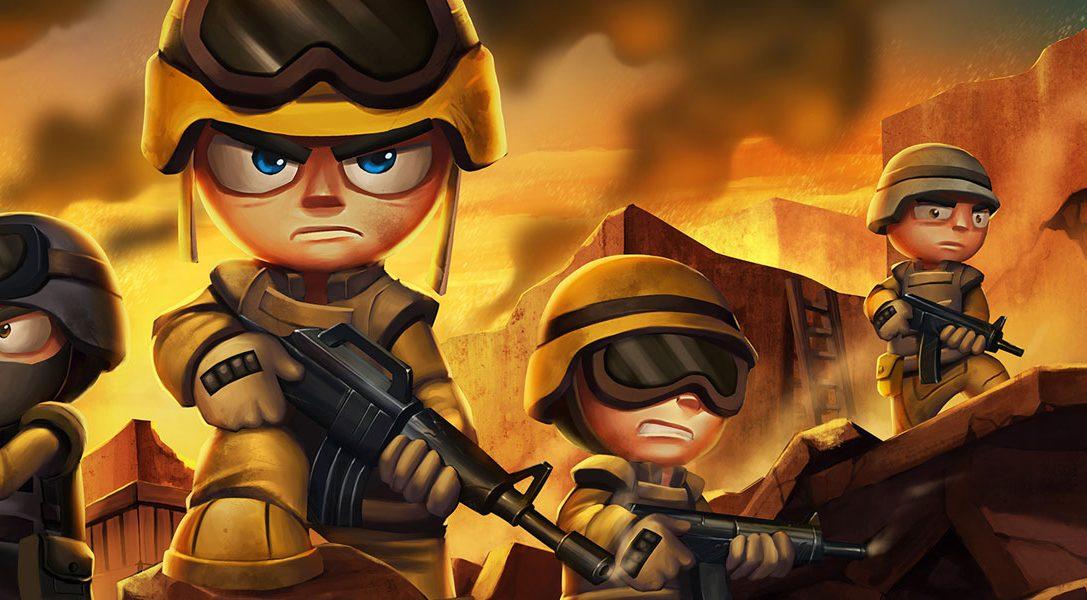 Tiny Troopers Joint Ops marschiert nächsten Monat auf PS3, PS4 und PS Vita ein