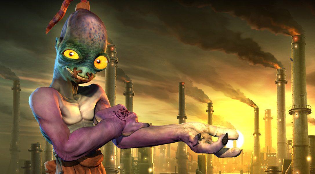 Neu im PlayStation Store: Oddworld, Crown of the Sunken King und viele mehr