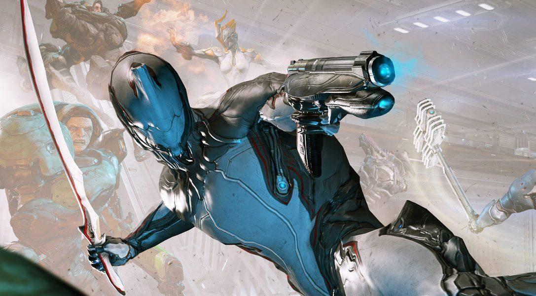 Warframe auf PS4 wird heute mit neuen Herausforderungen und Waffen aktualisiert