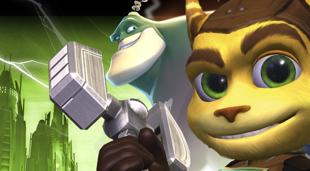 The Ratchet & Clank Trilogy startet heute auf PS Vita durch