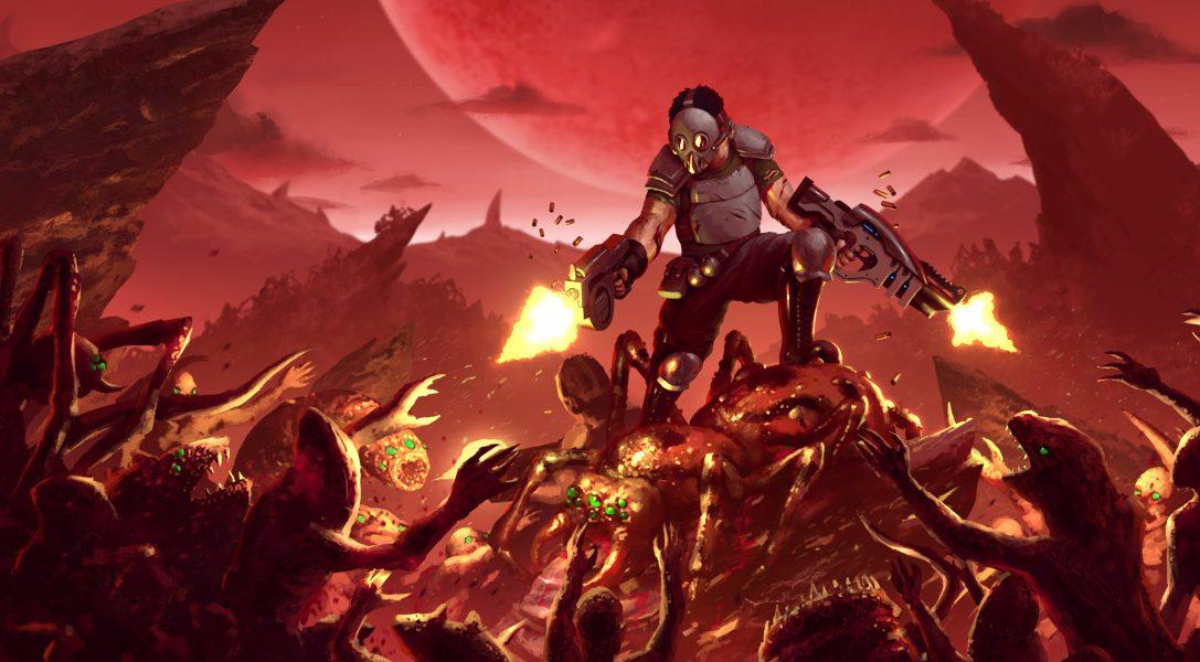 Der intensive Top-Down-Shooter Crimsonland kommt diesen Monat für PS4 raus
