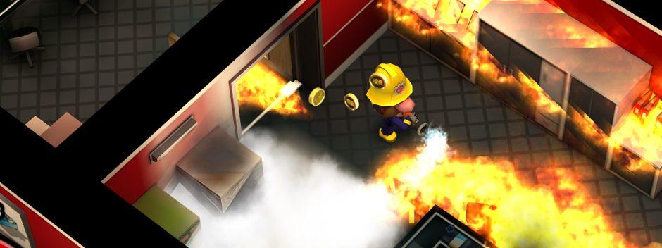 """Erstes Gameplay-Material zum """"feurigen"""" Titel Flame Over für PS Vita"""