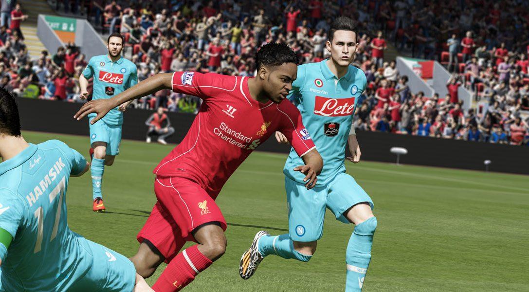 Wie die Weltmeisterschaft in diesem Jahr ihre Spuren bei FIFA 15 auf PS4 hinterlassen hat