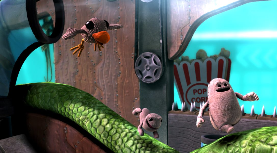 Hennes Bender spricht den neuen Bösewicht aus LittleBigPlanet 3