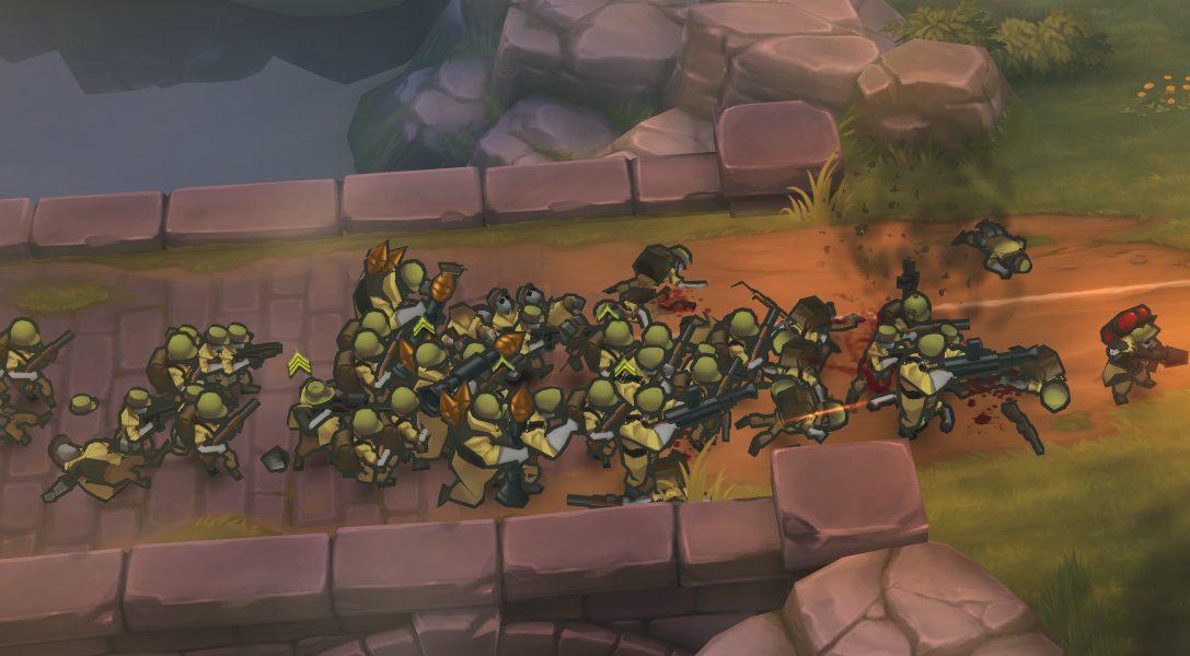Neuer Trailer zum Action-Strategie-Spiel GUNS UP! für PS3, PS4 und PS Vita!