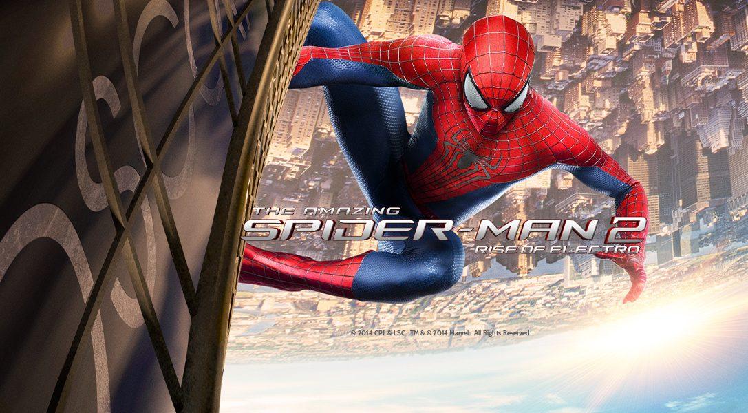 Gewinnt mit The Amazing Spider-Man 2: Rise of Electro ein PS4-System und einen Helikopterflug über New York