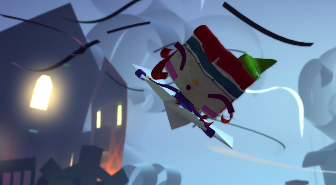 Tearaway Unfolded für PS4 auf der gamescom 2014 vorgestellt