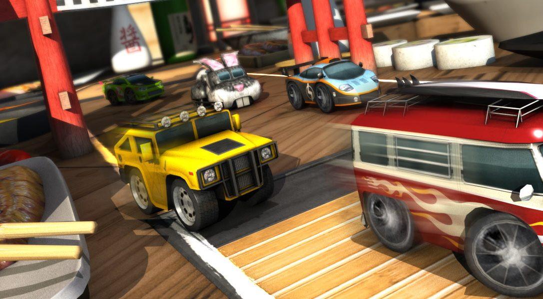 Table Top Racing rollt morgen auf PS Vita, Launch-Trailer ansehen