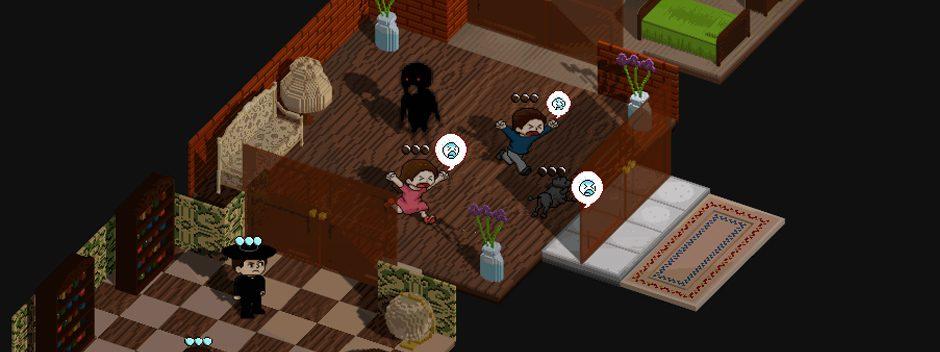 Übernatürlicher Puzzler Poltergeist: A Pixelated Horror für PS Vita angekündigt