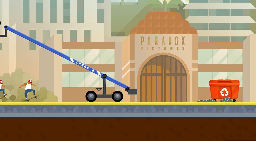 OlliOlli 2: Welcome to Olliwood skatet 2015 auf PS4 & PS Vita.