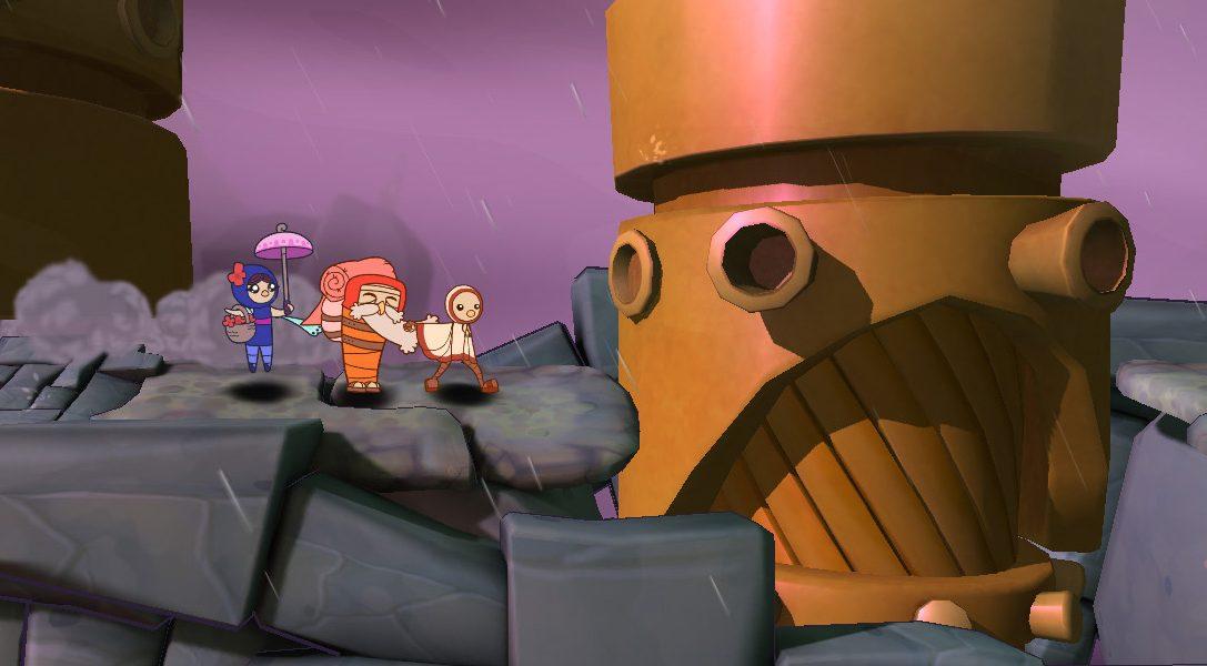 Handgezeichnetes Abenteuer Shu für PS4, PS3 & PS Vita angekündigt