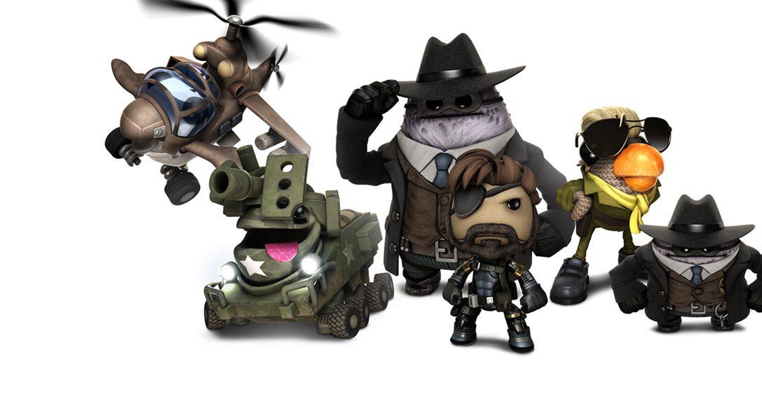 Metal Gear Solid V: Ground Zeroes und The Order: 1886 kommen zu LBP3!