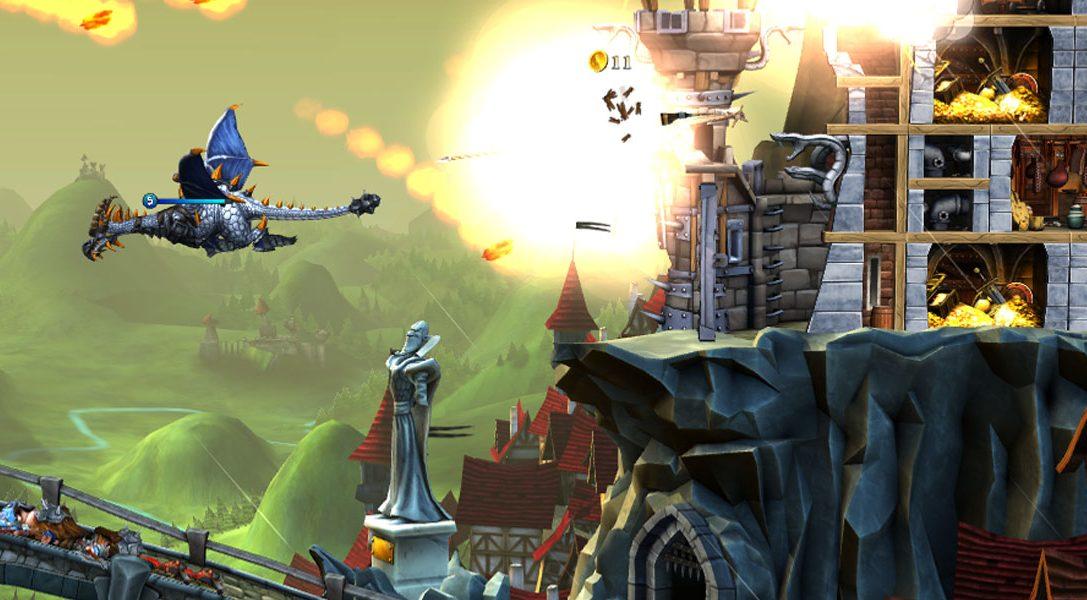 Das Action-/Strategiespiel CastleStorm: Definitive Edition ist ab morgen für PS4 erhältlich