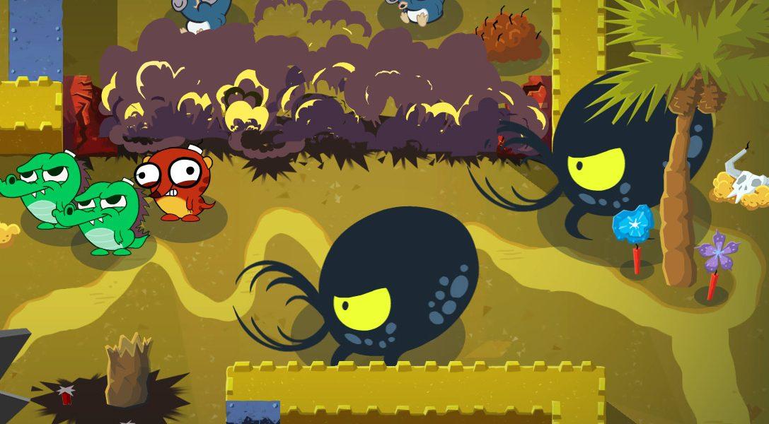 Details zu Super Exploding Zoo, das neue Spiel des Hohokum-Teams