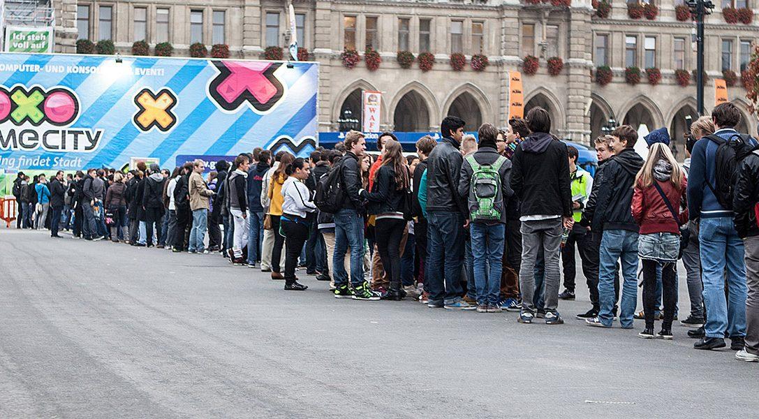 PlayStation auf der Game City 2014 in Wien